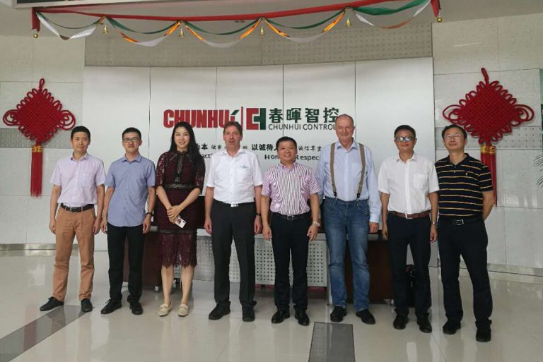 Company visits in Huzhou and Shaoxing