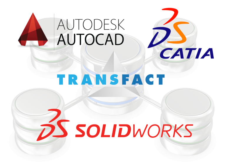 Transfact DB Interfaces with CAD Systems