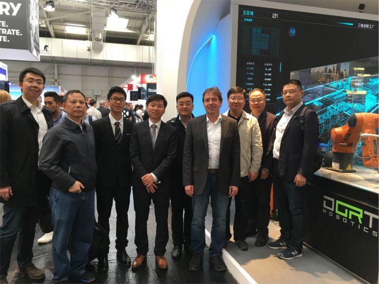 Chinesische Delegation aus Wuxi