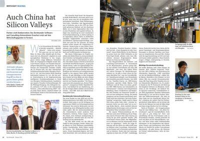 Ruhr Wirtschaft: Transfact Artikel: Auch China hat Silicon Valleys