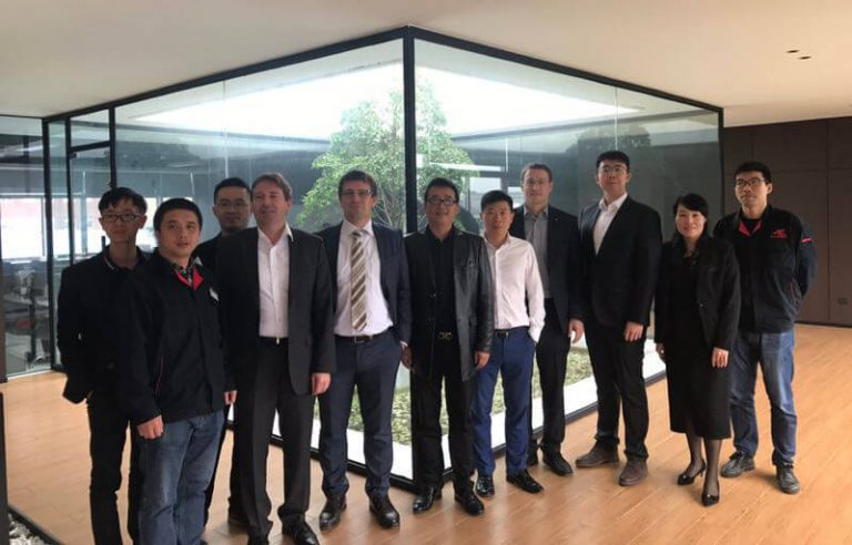 German Expert Delegation Visiting Taizhou