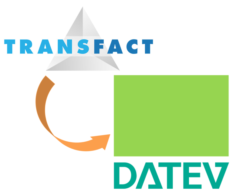 Transfact exports directly to Datev
