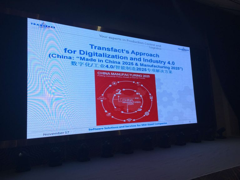 Transfact China Manufacturing 2025 Presentation